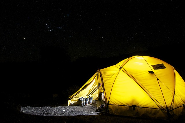 Image of a tent