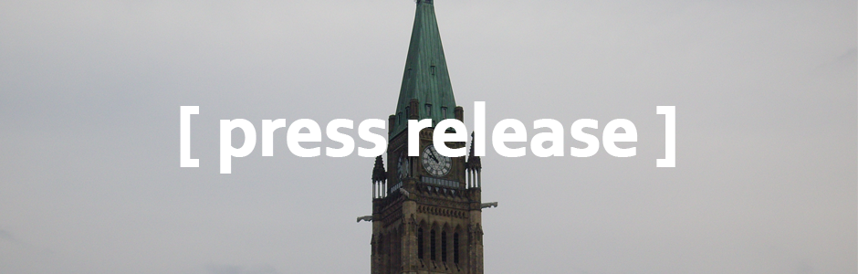Image of Parliament Hill with text