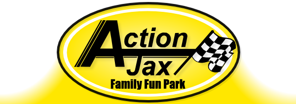 Picture of the Action Jax Family Fun Park logo