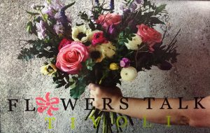 Image of Flowers Talk/Tivoli Logo