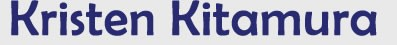 Picture of Kristen Kitamura logo