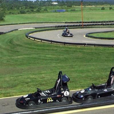 Photo d'une piste de go-kart