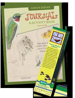 Junior birder guides and Bird Day bookmarks