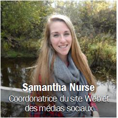 Samantha Nurse, Obtenir les coordonnées