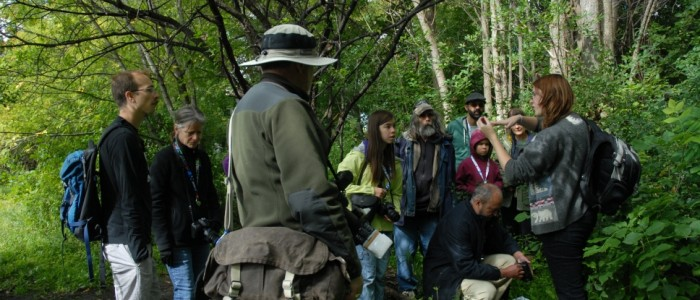 BioBlitz, Mud Lake, tour group