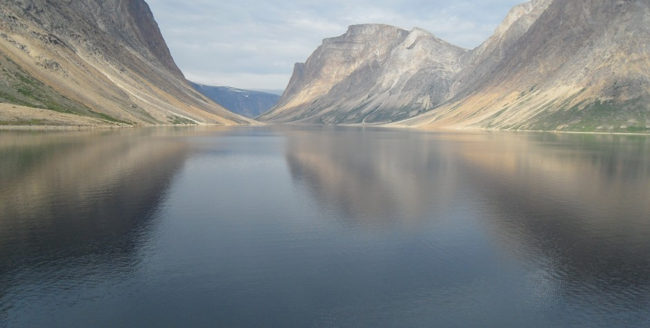 image of a fiord