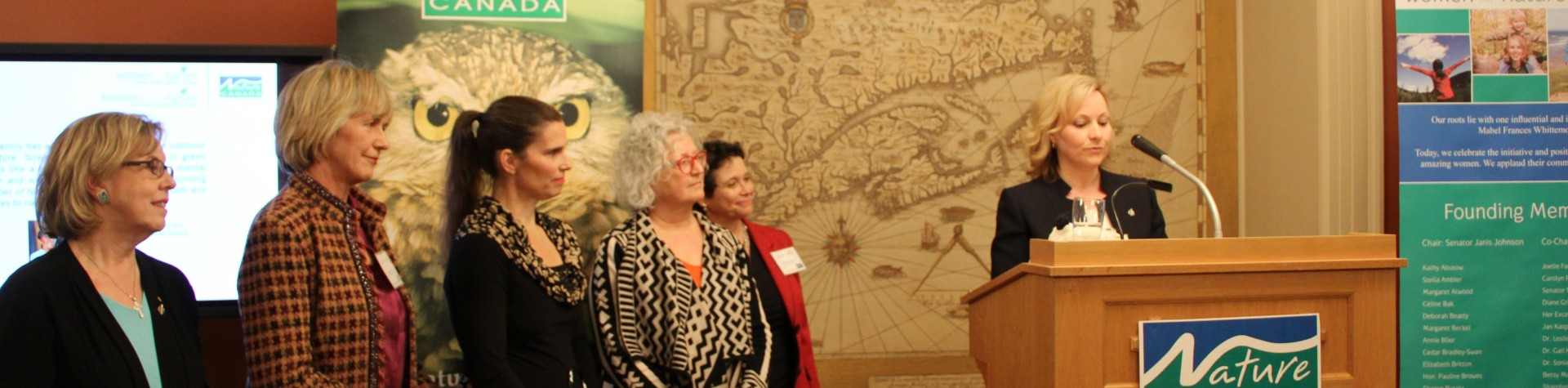 Photo of the Women for Nature event