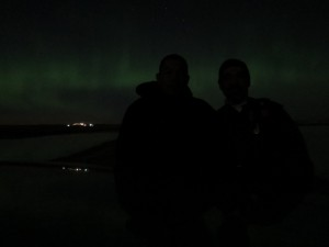 Aurora boreallis, Chaplin Lake