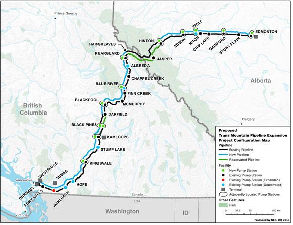 Nature Canada Kinder Morgan S Trans Mountain Pipeline