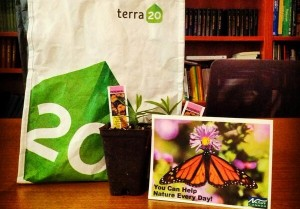Photo of terra20 and Nature Canada products