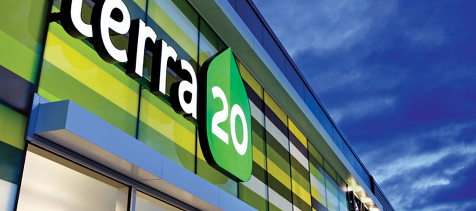 Picture of the terra20 store