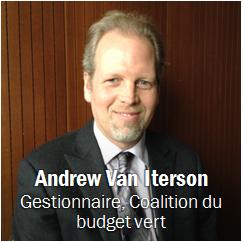 Andrew Van Iterson, Obtenir les coordonnées