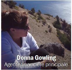 Donna Gowling, Obtenir les coordonnées
