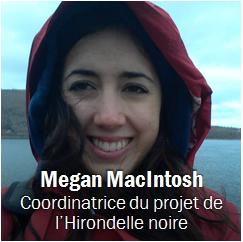 Megan MacIntosh, Obtenir les coordonnées