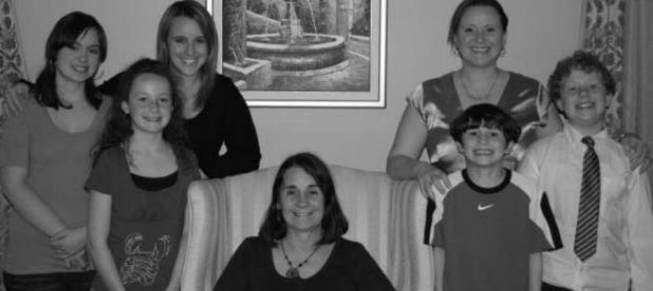 Elizabeth Walker and family