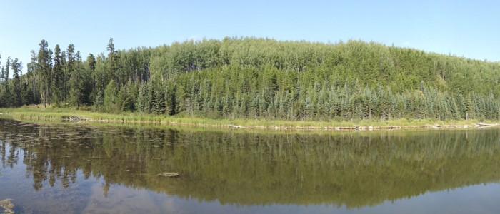 image of a lake