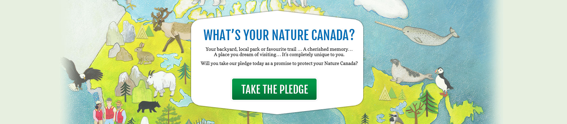 Take the My Nature Canada pledge today!