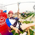 Image of the Montreal Zipline
