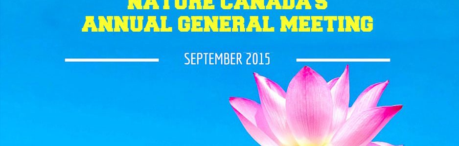 Image of Annual General Meeting of Nature Canada's