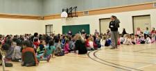 Birds of Prey Visit Ottawa Schools