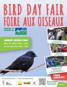 Bird Day Fair 2015 event poster