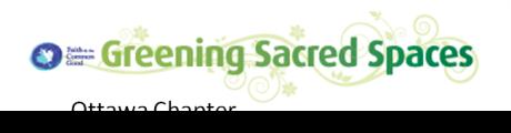 Greening Sacred Spaces Ottawa Chapter logo