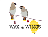 Wax and Wings logo