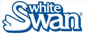 White Swan logo (white)