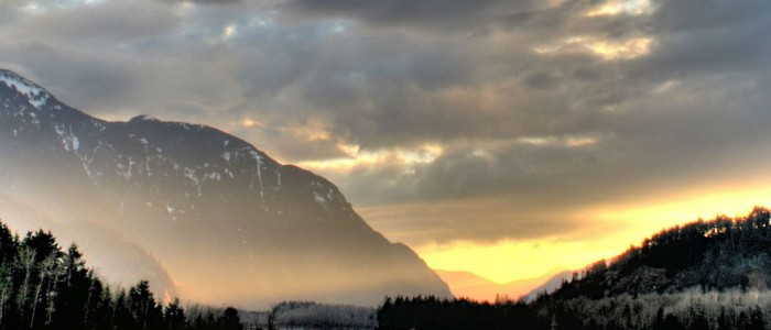 image of mountains in BC