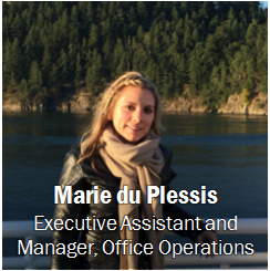 Marie du Plessis, click for contact information