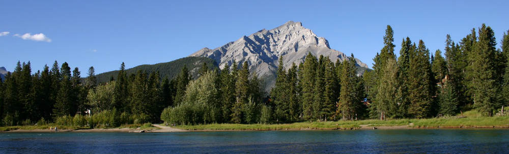Image of Canadian mountains
