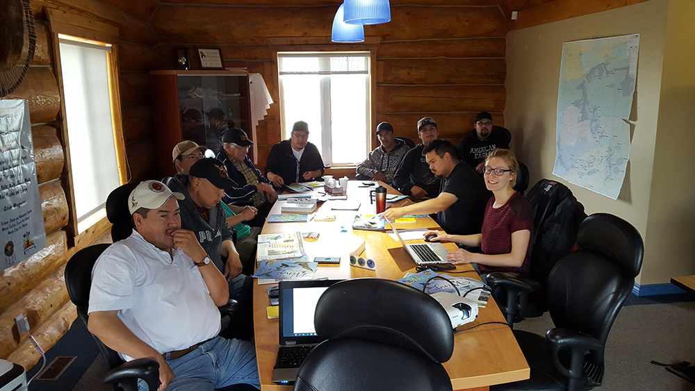 Image of Workshop with Cree Nation of Waskaganish