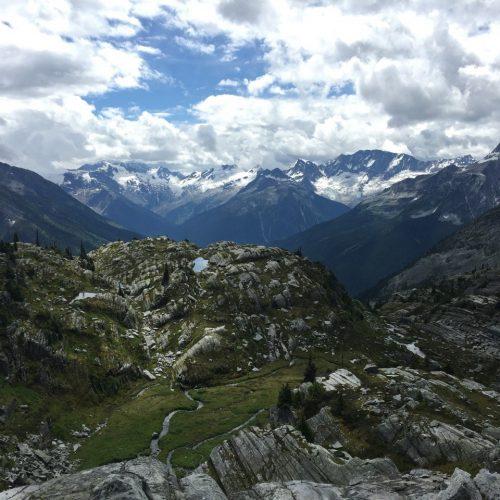 Image of Hermit Trail in Glacier National Park