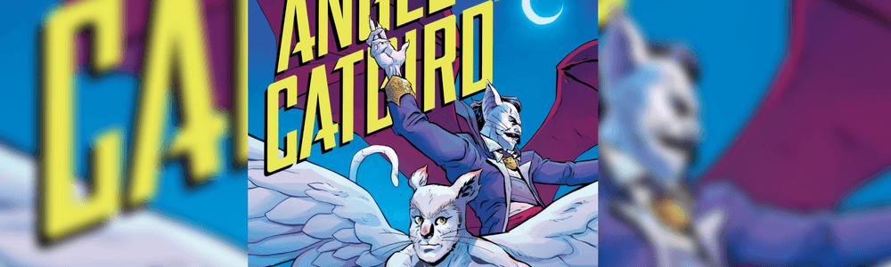 Image of Angel Catbird Book Cover