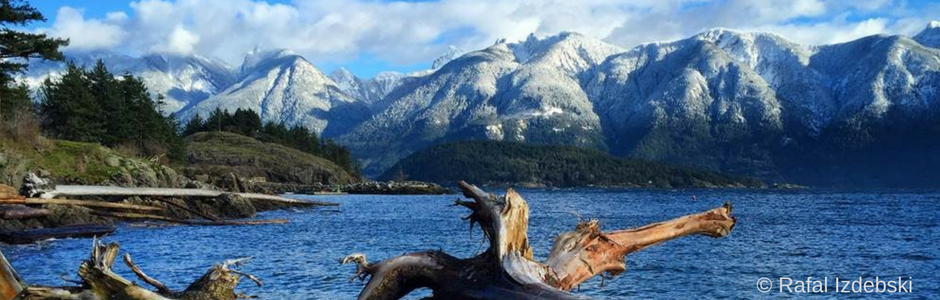Calendar Photo: Bowen Island in Howe Sound, BC