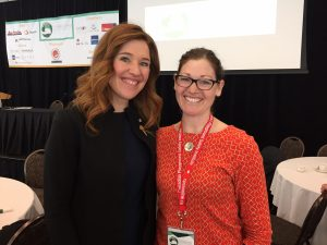 Image of Clara Hughes and Jill Sturdy
