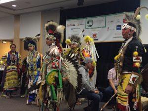 Image of Indigenous dancers