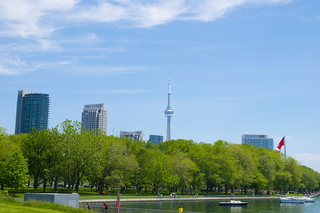 Image of the nature in Toronto