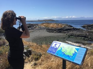 Image of Jill Sturdy at Victoria Harbour Migratory Bird Sanctuary