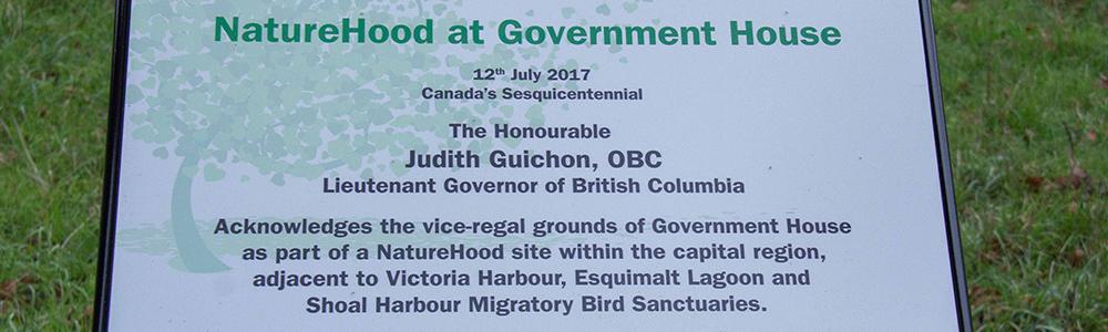 NatureHood Designation in Victoria, BC